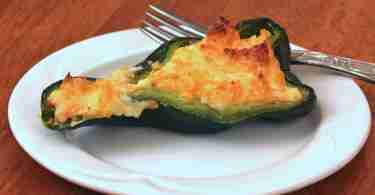 Cheese Stuffed Poblano Peppers