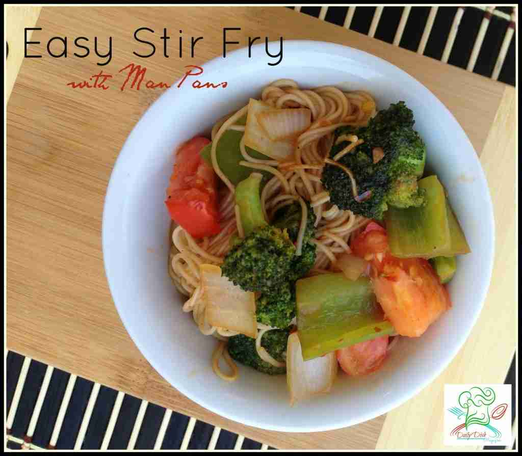 Easy Stir Fry with Man Pans Asian Wok