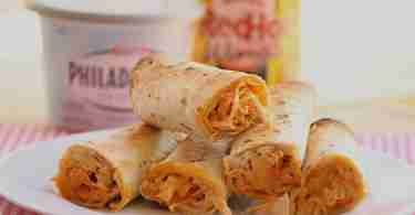 Game Day Recipes: Buffalo Chicken Taguitos