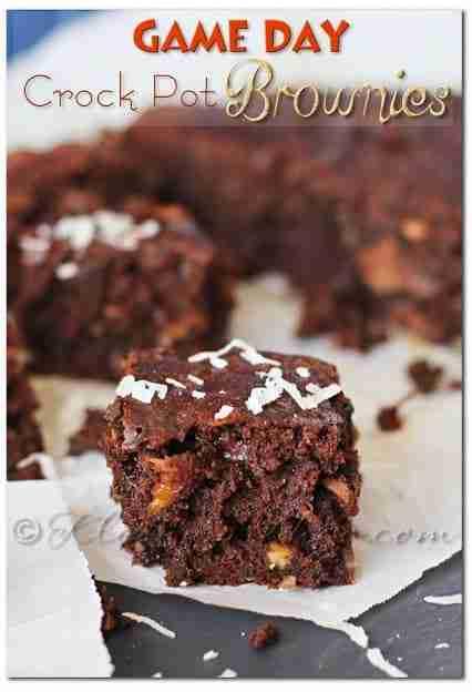 Crock Pot Brownies Via Kleinworth and Co.