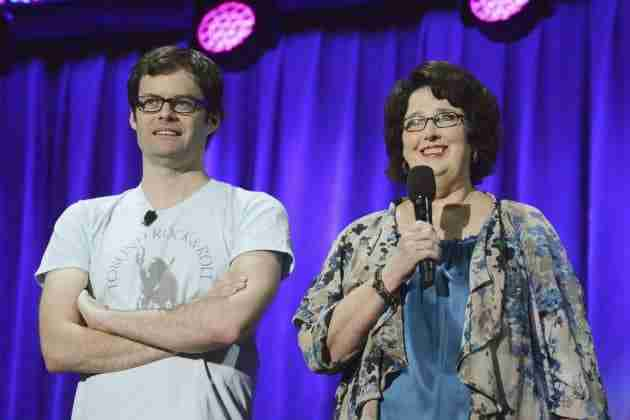 """Bill Hader and Phyllis Smith Play """"Fear"""" and """"Sadness"""" in Disney's Upcoming """"Inside Out"""""""