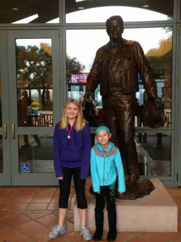 Visiting the Reagan Museum
