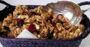 Lower Fat Granola