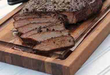 Photography: Smoked Top Round Steak