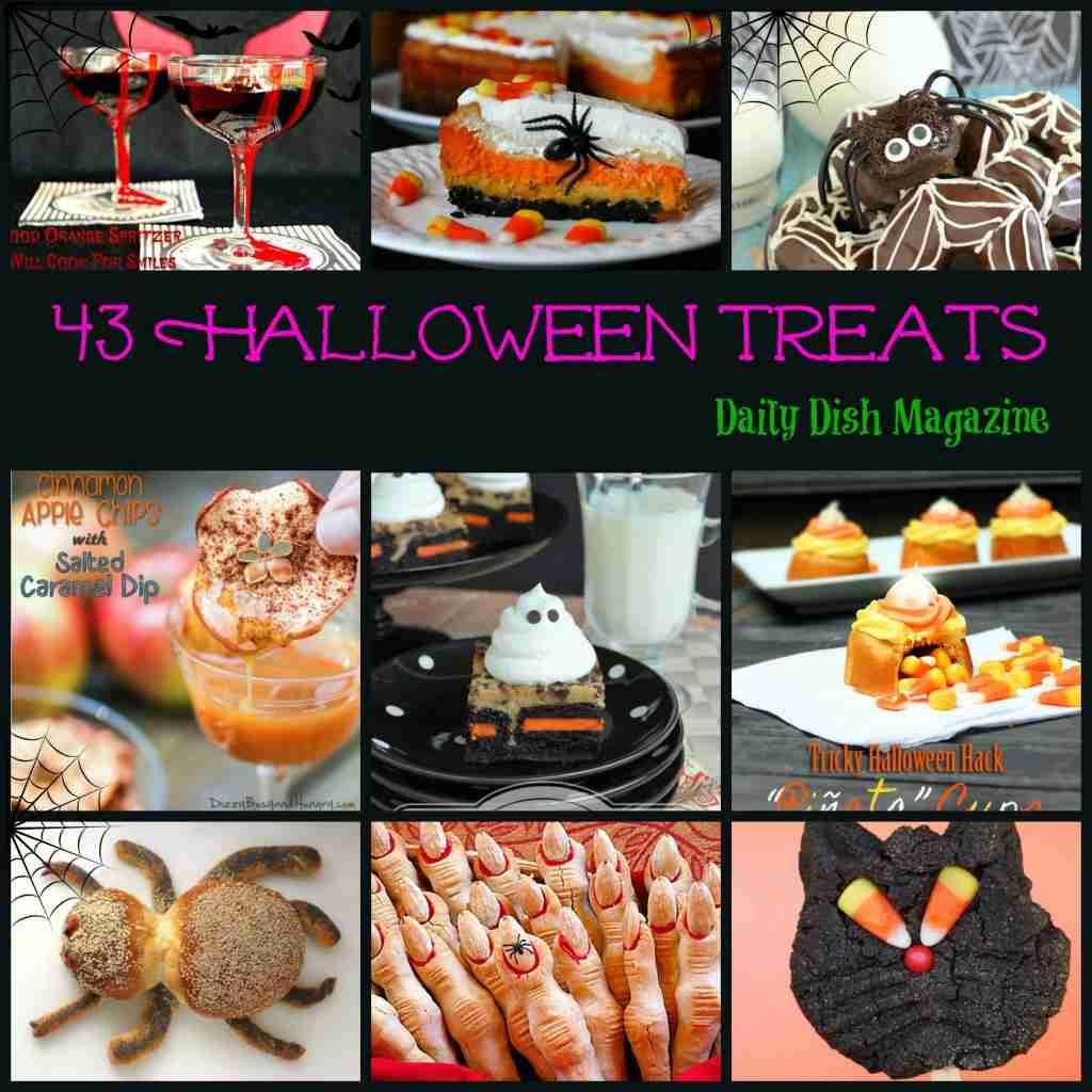 43 Halloween Treats & Recipes