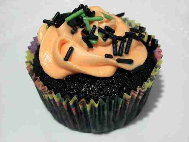Black Velevet Cupcakes from Chocolate Moosey