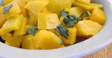 Butternut Squash with Brown Butter Sage Sauce