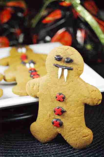 Gingerbread Vampires from The Kitchen is My Playground