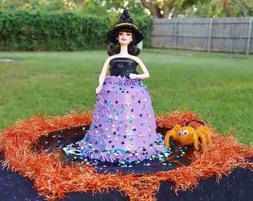Halloween Doll Cake from Kelli's Retro Kitchen Arts