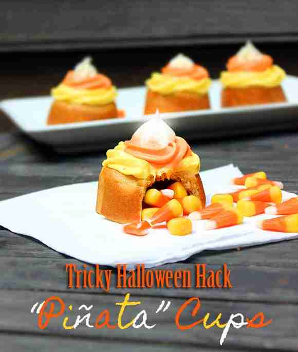 Halloween Pinata Cups from Homemaking Hacks