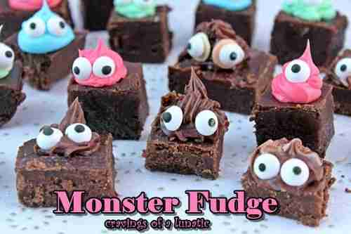 Monster Eye Fudge from Cravings of a Lunatic