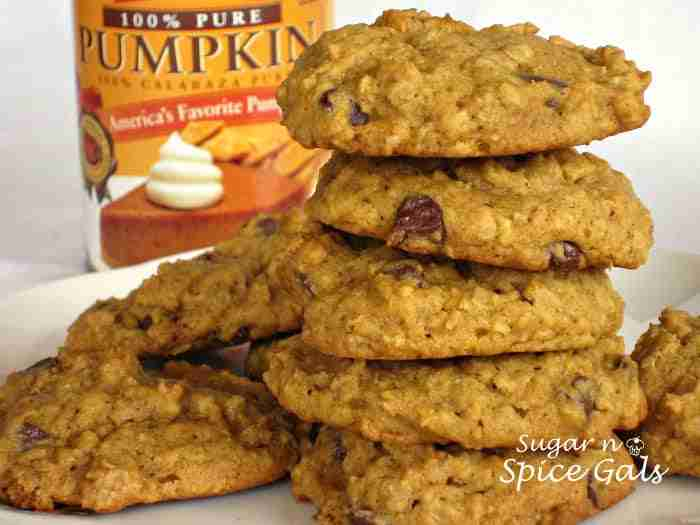 Daily Dish } Oatmeal Pumpkin Cookies | Daily Dish Magazine | Recipes ...