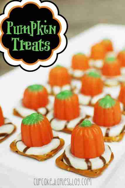 Pumpkin Treats from Cupcake Diaries