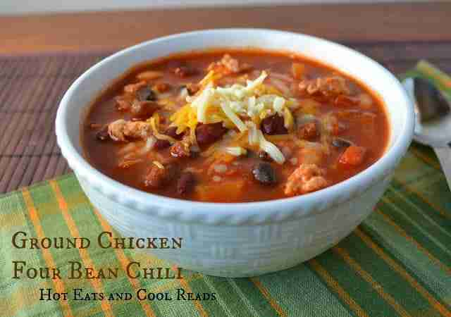 Ground Chicken Four Bean Chili