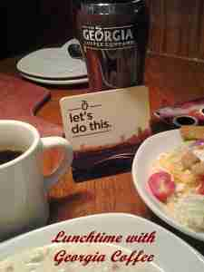 Lunchtime with Georgia Coffee