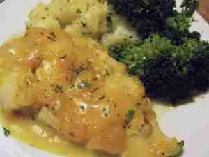 orange chicken orange zest