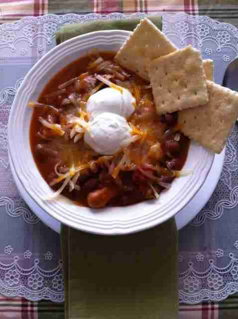 Easy Pork Chili ~ Slow Cooker