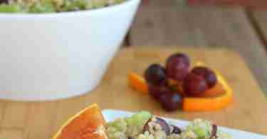 Quinoa Grape Celery Salad