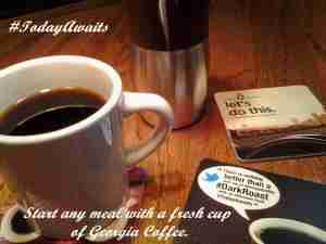 Start Your Meal with Georgia Coffee