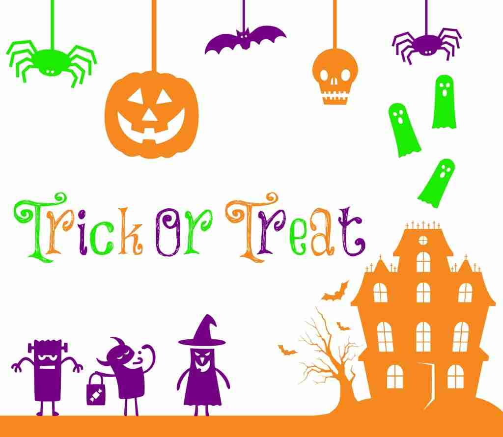 Free Trick or Treat Halloween Printalbe