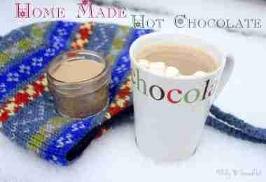 Homemade Hot Chocolate ~ Daily Dish Magazine.