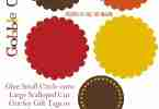Free Thanksgiving & Fall Placecards and Tags Printables