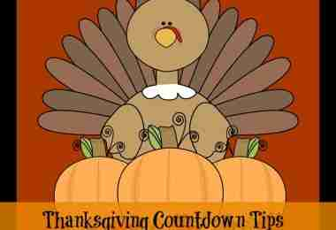 thanksgiving countdown tips