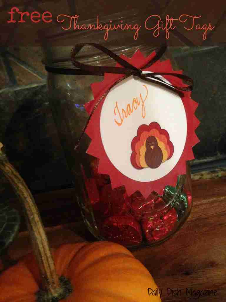 Thanksgiving Gift Tags ~ Free Printable