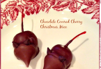 Chocolate Covered Cherry Christmas Mice from Grace, Grits, and Gardening