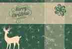 Free Printable 5x7 Holiday Card