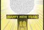 New Years Ball Drop Maze