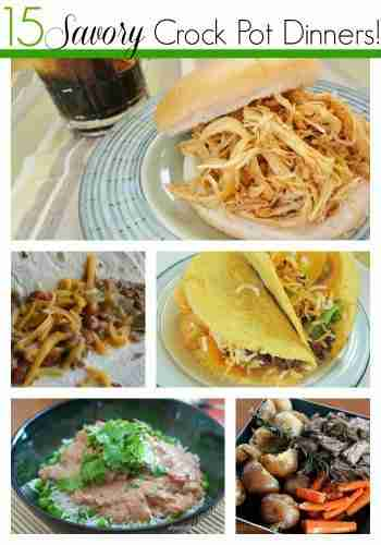 15 Savory Crock Pot Recipes