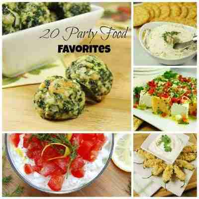 20 Party Food Favorites for Game Day