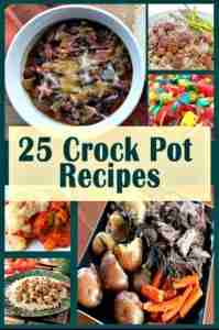 25 Crock Pot Recipes