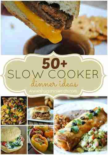 50 Slow Cooker Ideas