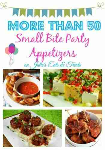 50+ Small Bites ~ Appetizer Round Up for Game Day