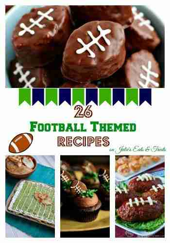 26 Football Themed Recipes