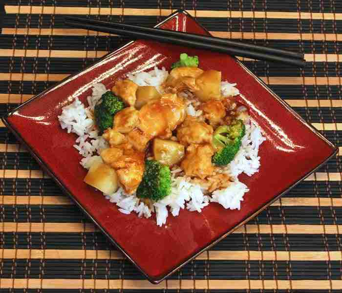 Lighter Asian Stir Fry