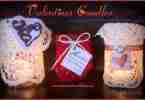 Valentine Candles ~ Daily Dish Magazine