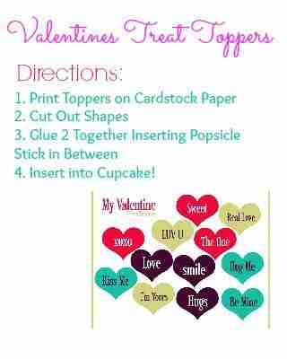 Treat Topper Directions