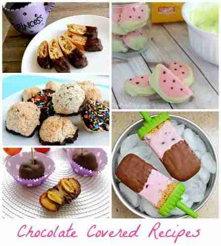 Chocolate Covered Recipes for Valentines Day