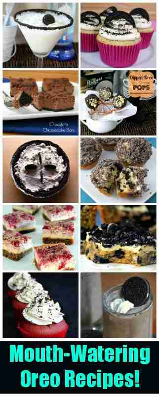 Mouth Watering Oreo Recipes!