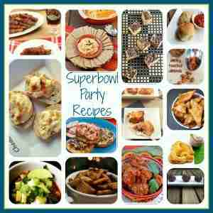 Superbowl Football Party Recipes at Daily Dish Magazine