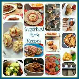 Superbowl Football Party Recipes at Daily Dish Magazine