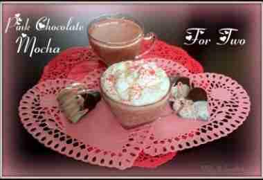 Pink Chocolate Mocha