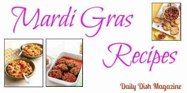 Mardi Gras Recipes on Daily Dish Magazine