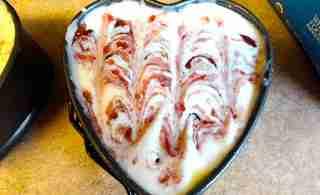 Skinny Raspberry White Chocolate Cheesecake