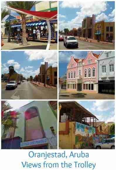 Views from the Oranjestad Trolley