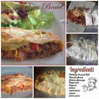 Pizza Braid- Daily Dish Magazine