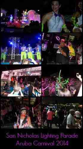 Aruba Carnival Lighting Parade